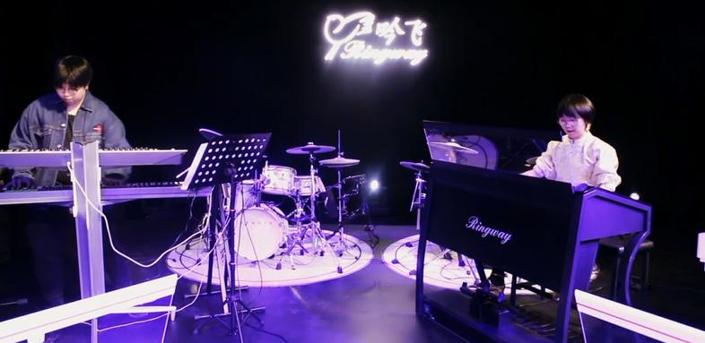 收米体育直播appiOS新年音乐会风采(三)| Nektar MIDI键盘、Bitwig音乐工作站软件与电子管风琴上演精彩电子乐
